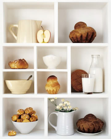 estante de leches